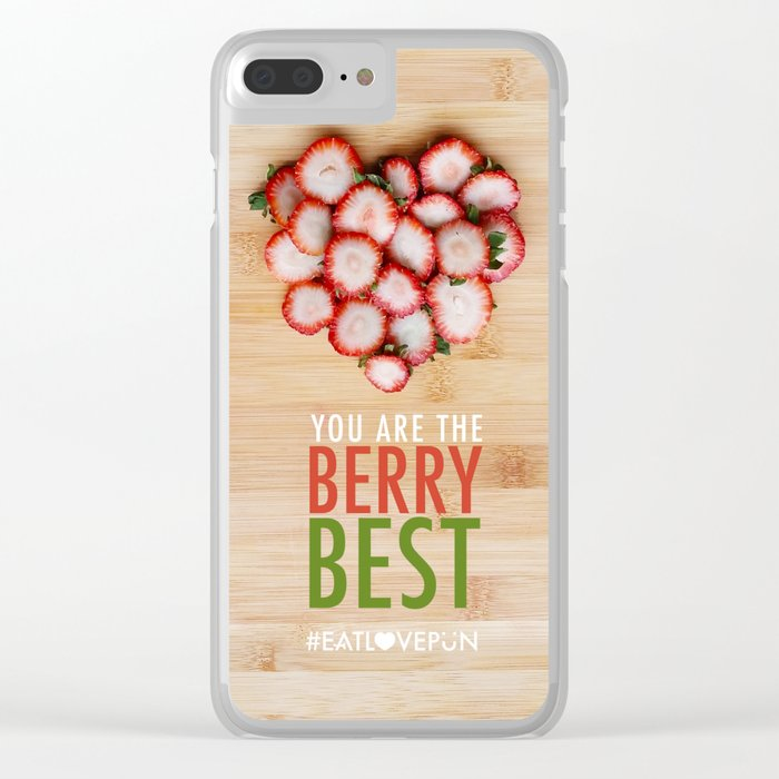 You are the Berry Best Clear iPhone Case