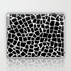 British Mosaic Black and White Laptop & iPad Skin