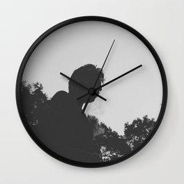 Gloomy Wall Clock