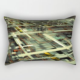 3D poster Rectangular Pillow