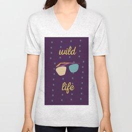 Wild life Unisex V-Neck