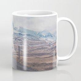 NEVER STOP EXPLORING ICELAND Coffee Mug