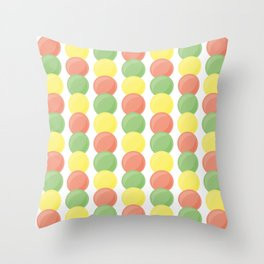 Sweet Marbles Throw Pillow