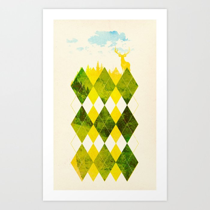 Elegant Forest Art Print