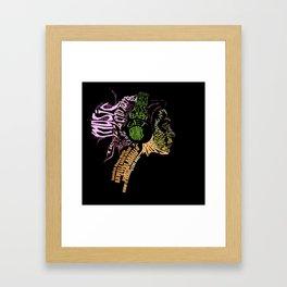 Baby Get Shaky Framed Art Print