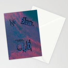 No Sleep Club Stationery Cards