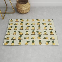 Pineapple Yoga Rug
