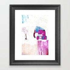 Set Up Framed Art Print