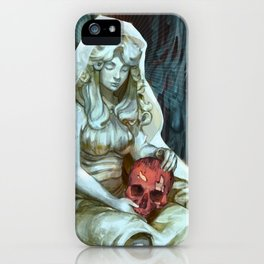 We All Bleed iPhone Case