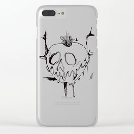 Poison Inktober Drawing Clear iPhone Case