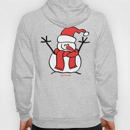 Christmas Snowman and Children Hoody