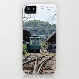Kamakura Enoden iPhone Case