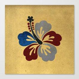 Hibiscus Flower Canvas Print