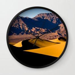 Whispering Dunes California Wall Clock