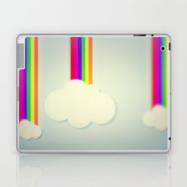 Yellowing Clouds Laptop & iPad Skin