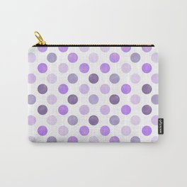 Watercolor Dots Pattern III Carry-All Pouch