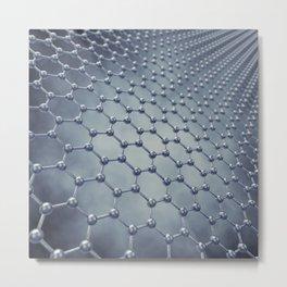 Graphene Metal Print
