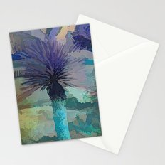 Got The Blues In The Desert  Stationery Cards