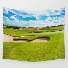 golf course Wall Tapestry