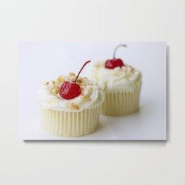 Pina Colada Cupcakes Metal Print