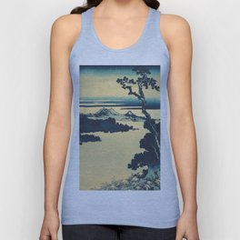 Looking Left at Hine Unisex Tank Top