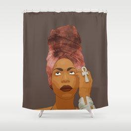 Erykah Badu, Brown Shower Curtain