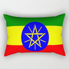 Flag of Ethiopia Rectangular Pillow