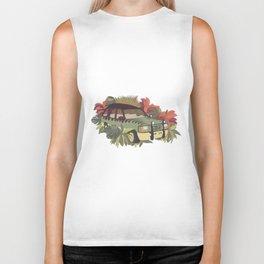 Jurassic Car Biker Tank