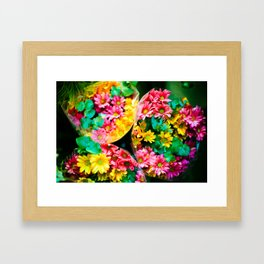 Flores de Galipán Framed Art Print