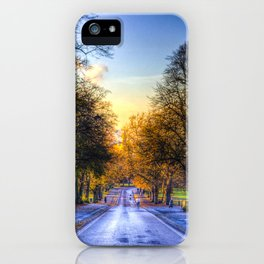 Greenwich Park London iPhone Case