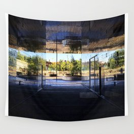 New Area in Morning Light Wall Tapestry