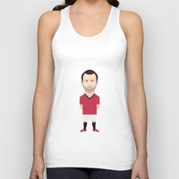 manchester Tank Tops featuring Ryan Giggs - Manchester United by Georgian-Sorin Maxim