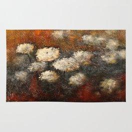 Golden Blossoms Rug
