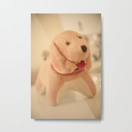 Sewing Helper Metal Print