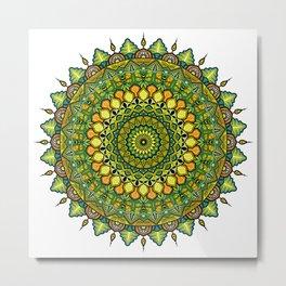 Mandala Fortuna Metal Print