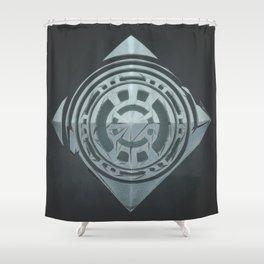 lacko communico Shower Curtain