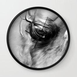 Arabian Stallion 1d Wall Clock