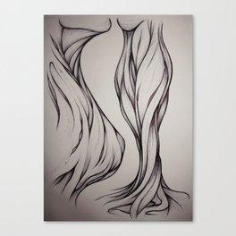 Hidden Curve Canvas Print