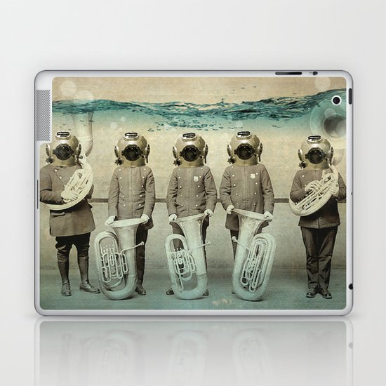 the diving bell Tuba quintet Laptop & iPad Skin
