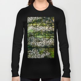 Louis Comfort Tiffany - Decorative stained glass 2. Long Sleeve T-shirt