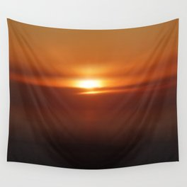 The Golden Hour Wall Tapestry