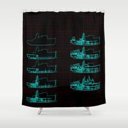 Belafonte Shower Curtain