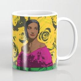 Maria Callas quartet Coffee Mug