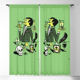 Drinks With The Mad Scientist Next Door Blackout Curtain