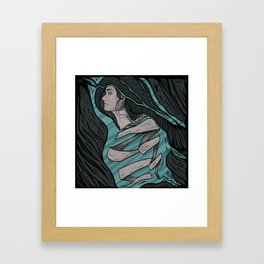 Dissoluzione Framed Art Print