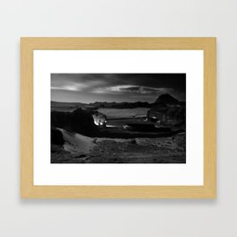 Untitled: Full Moon Framed Art Print