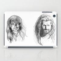 kili iPad Cases featuring Fili and Kili by Morgan Ofsharick - meoillustration