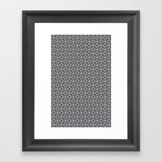 Diamonds in Smoke Framed Art Print