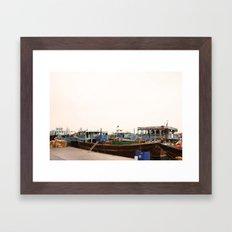 Dhows Framed Art Print