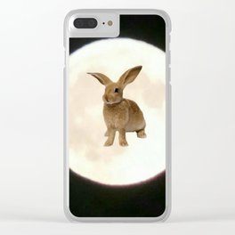 Moonrabbit 3 Clear iPhone Case
